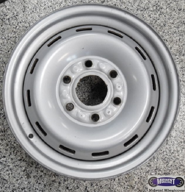 Used Steel Wheels : A used rims lug quot chev