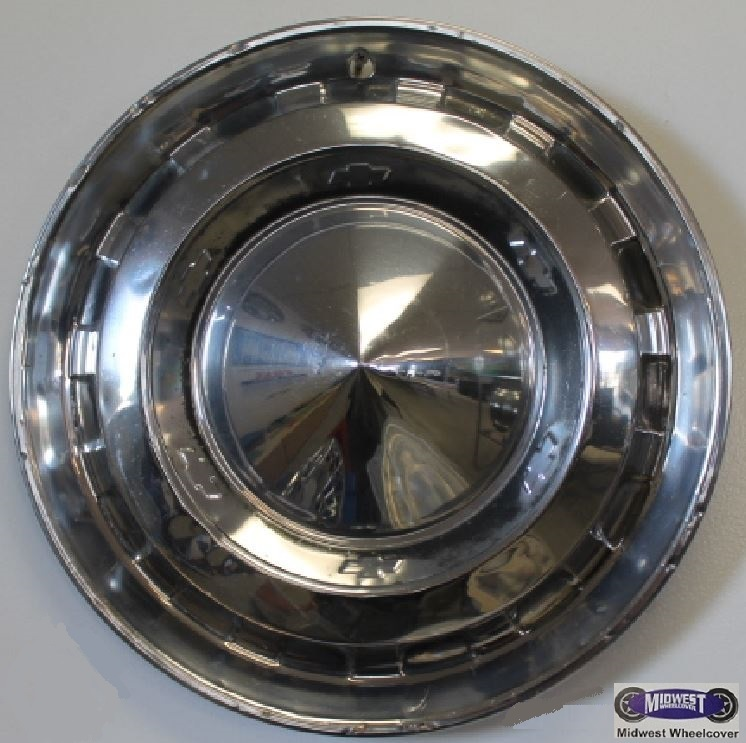956 Chevy Hubcap 15 Quot 56 Chevy Polished Outer Ring 15