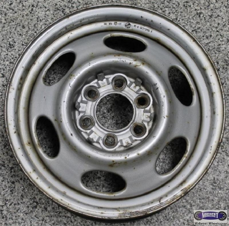 Dodge Dakota 6 Lug Rims: 2003, Used Rims, Dodge, 15x6, 6 LUG, 4-1/2, 91-00, DODGE