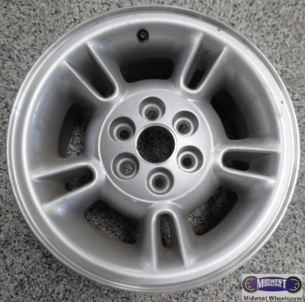 "Dodge Dakota 6 Lug Rims: 2082A, Used Rims, 15X8, 6 LUG, 4-1/2"", 97-00, DODGE"