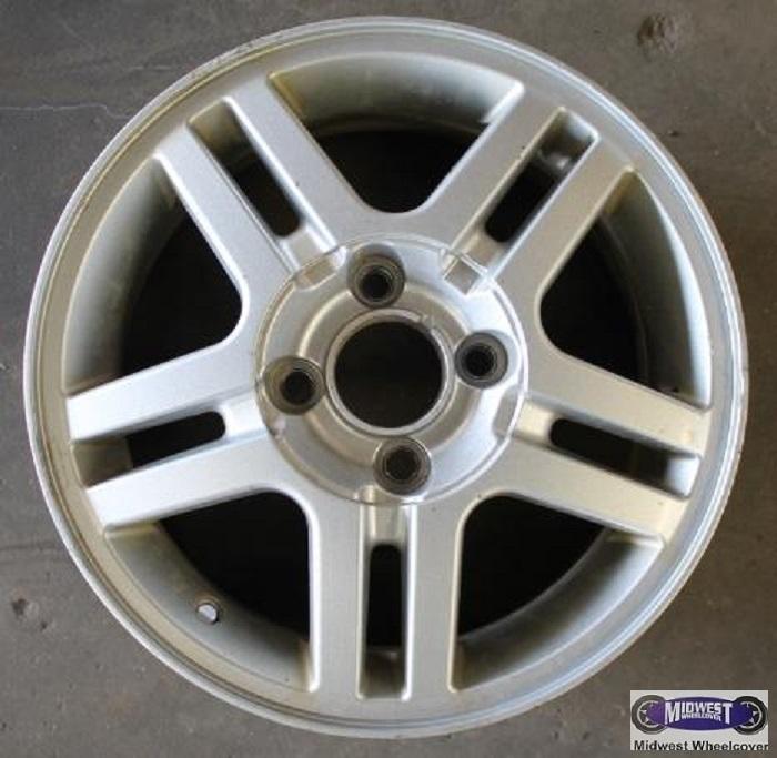 rims   lug     ford focus  double spoke jack silver alloy