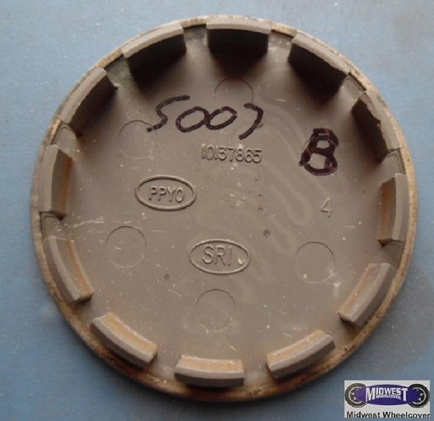 5007b, CENTER CAP USED , 17