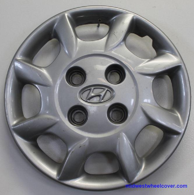 "55541, Hubcaps, 14"", 98,2000, Hyundai, ELANTRA, SPARKLE ..."