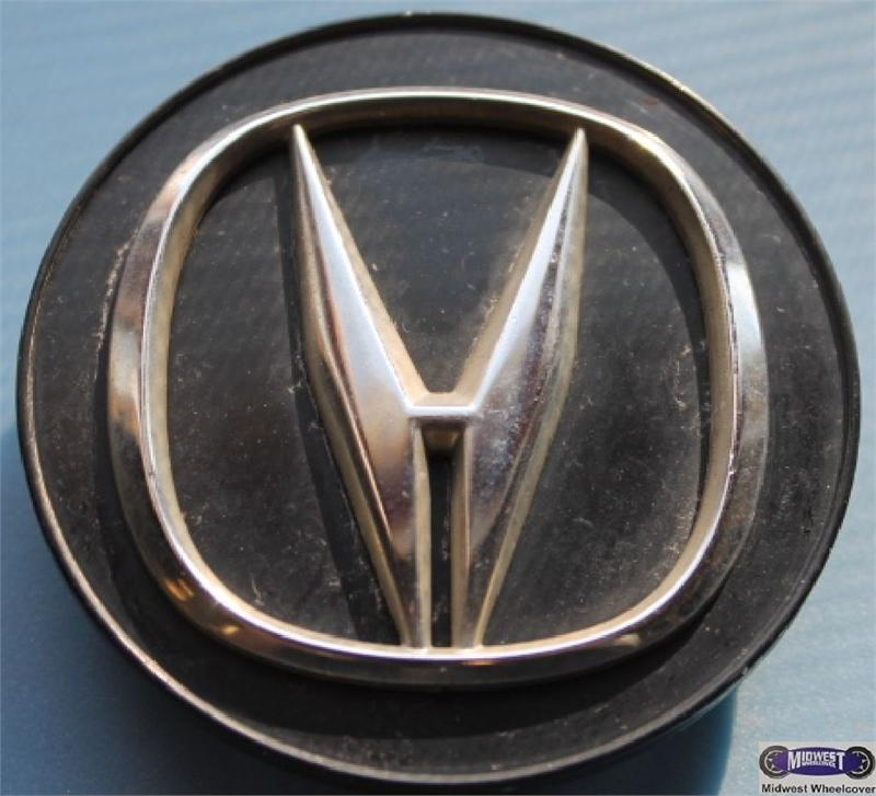 71790, CENTER CAP USED, 18, 04-08, ACURA, TL, BLACK WITH