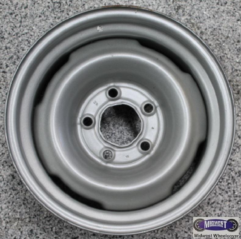Used Steel Wheels : Used rims lug quot chevy gmc van