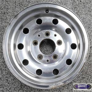 """Ford F150 Rims >> 3136, Used Rims, 15X7-1/2, 5 LUG, 5-1/2"""", 94-96, FORD, BRONCO, F150, 10 HOLE, WITHOUT RIVETS, ALLOY."""