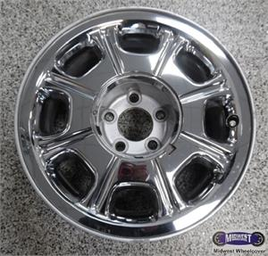 3270 Used Rims 16x7 5 Lug 4 1 2 98 02 Lincoln Town Car Chrome