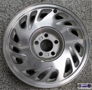 3747a Used Rims Left 16x7 5 Lug 4 1 4 96 98 Lincoln Continental