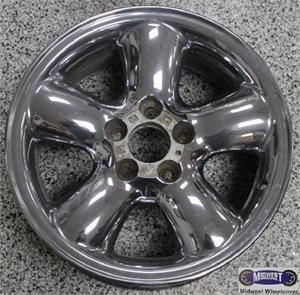 4532 Used Rims 16X7 5 LUG 110mm 97 99 CADILLAC CATERA