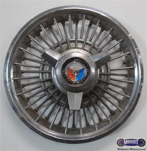 """Mustang Lug Nuts >> 610b, Hubcap used, 14"""", 65-67, FORD, FAIRLANE, MUSTANG ..."""